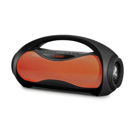 Caixa de Som Mondial Preto/laranja Nsk-04