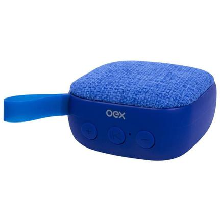 Caixa de Som Oex Wee - Azul Sk413