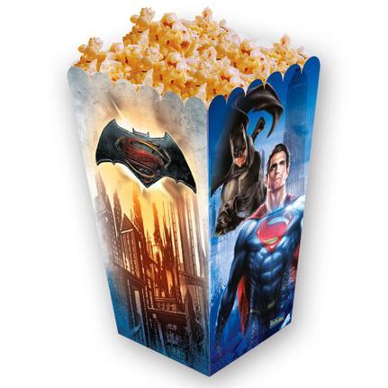 470bf0750 Caixa para Pipoca Batman Vs Superman 8 unidades Festcolor - Mini Boneco -  Magazine Luiza
