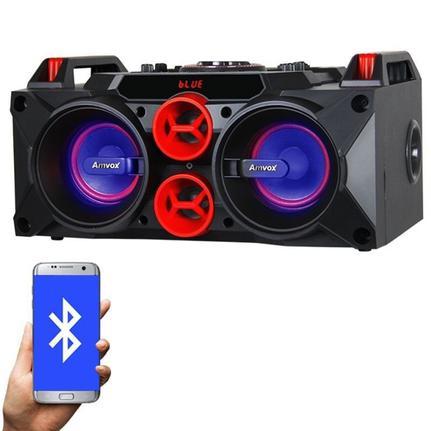 Caixa Som Amplificada Bluetooth 150w Bateria Recarregável - Amvox