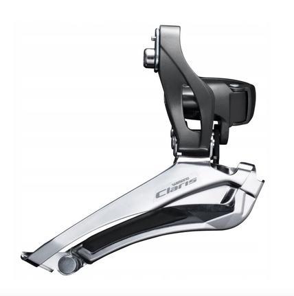 Cambio dianteiro shimano claris fd-r2000 duplo 34.9mm 8v (1050402) - Peças  para Bicicleta - Magazine Luiza