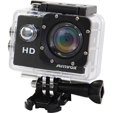 Câmera Digital Amvox Ação Preto 5.0mp - Adc-800