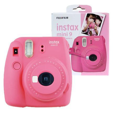 Câmera Digital Fujifilm Instax Mini 9 Rosa 12.7mp