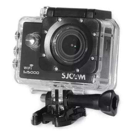 Câmera Digital Sjcam Elite Gyro Hd 4k Full Hd Fimaldora Sport a Prova D' Água Prata 12.3mp - Sj5000