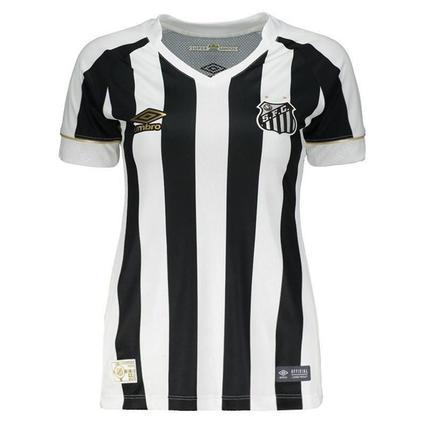 0ba6a0ef9a Camisa Feminina Santos Umbro Oficial 2 2018 - Roupas esportivas - Magazine  Luiza