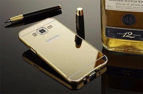 04a47002c Imagem de Case Bumper Metal Alumínio Espelhada Galaxy J2 J200 Capinha
