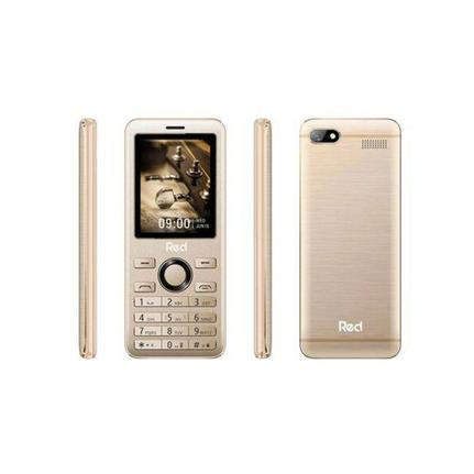 Celular Red Mobile M012f N/i Dourado - Dual Chip