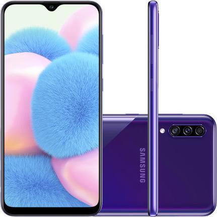 Celular Smartphone Samsung Galaxy A30s A307g 64gb Violeta - Dual Chip