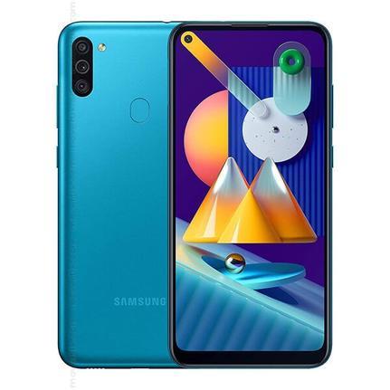 Celular Smartphone Samsung Galaxy M11 32gb Azul - Dual Chip