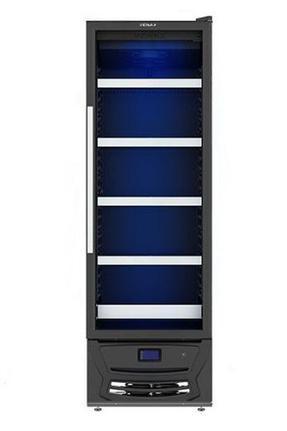 Geladeira/refrigerador 330 Litros 1 Portas Preto Blue Light - Venax - 220v - Expvqbl330