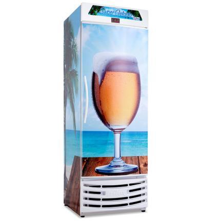 Geladeira/refrigerador 450 Litros 1 Portas Adesivado - Frilux - 220v - Rf-017