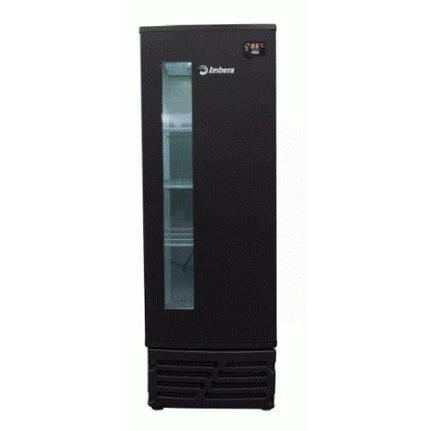 Geladeira/refrigerador 243 Litros 1 Portas Preto Porta Window - Imbera Beyond Cooling - 220v - Ccv144