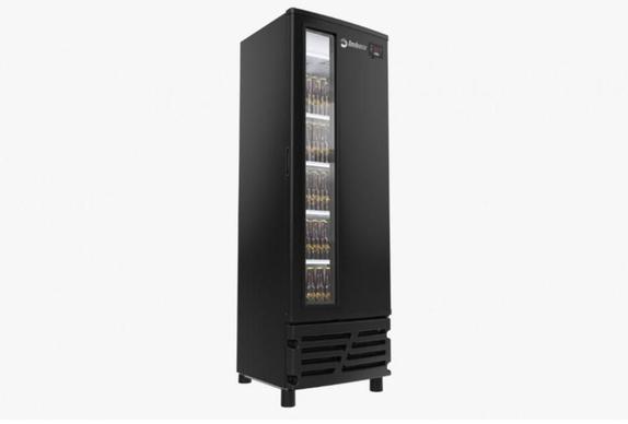 Geladeira/refrigerador 550 Litros 1 Portas Preto Porta Window - Imbera Beyond Cooling - 220v - Ccv355