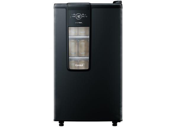 Geladeira/refrigerador 82 Litros 1 Portas Preto Smartbeer - Consul - 220v - Cze12aebna