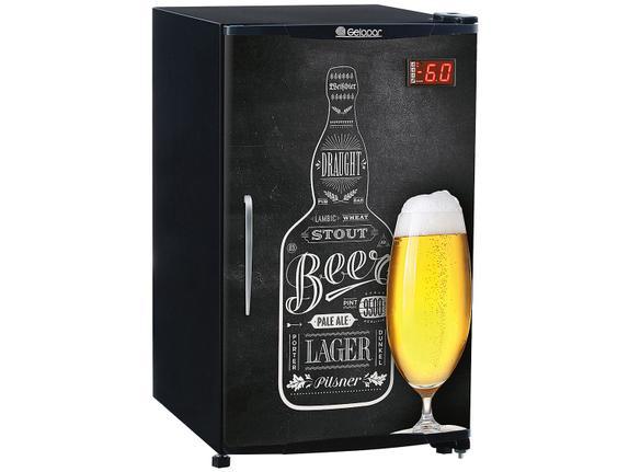 Geladeira/refrigerador 120 Litros 1 Portas Adesivado Beer - Gelopar - 220v - Grba120qc