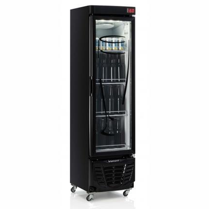 Geladeira/refrigerador 230 Litros 1 Portas Preto - Gelopar - 220v - Grba-230evgw