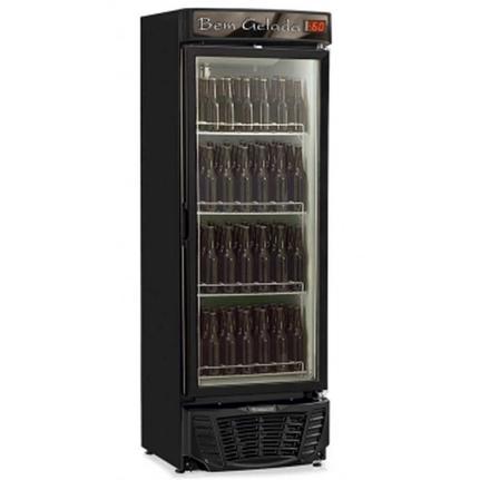 Geladeira/refrigerador 445 Litros 1 Portas Preto - Gelopar - 220v - Grba450pva