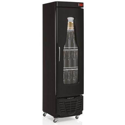 Geladeira/refrigerador 228 Litros 1 Portas Preto - Gelopar - 110v - Grba230pr