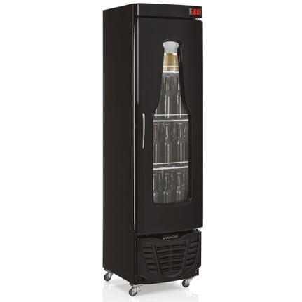 Geladeira/refrigerador 228 Litros 1 Portas Preto - Gelopar - 220v - Grba230pr