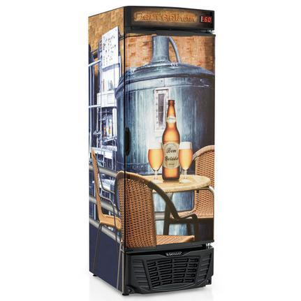 Geladeira/refrigerador 572 Litros 1 Portas Adesivado Bem Gelada - Gelopar - 110v - Grba570qc