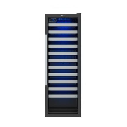 Geladeira/refrigerador 200 Litros 1 Portas Preto Color Light - Venax - 220v - Expvq200