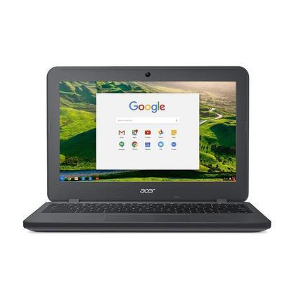 """Notebook - Acer C731t-c2gt Celeron N3060 1.60ghz 4gb 32gb Padrão Intel Hd Graphics Google Chrome os Chromebook 11 11,6"""" Polegadas"""