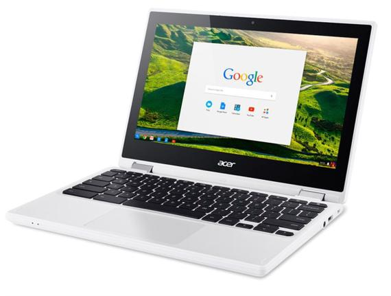 "Notebook - Acer Cb5-132t-c5md Celeron N3160 1.60ghz 4gb 32gb Padrão Intel Hd Graphics Chrome os Chromebook 11,6"" Polegadas"
