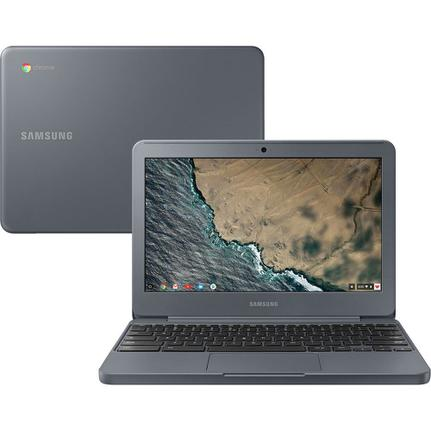 """Notebook - Samsung Xe501c13-ad2br Celeron N3060 1.60ghz 4gb 16gb Padrão Intel Hd Graphics 400 Google Chrome os Chromebook 11,6"""" Polegadas"""