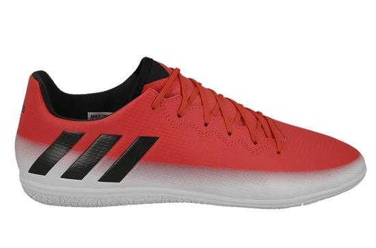 c4b98a0b18ba7 Imagem de Chuteira futsal adidas messi 16.3 in masculina - vermelho e branco