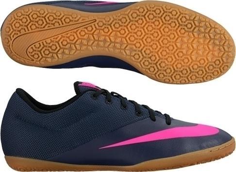 57768330e0 Chuteira Nike Mercurial X Pro Ic Futsal - Azul E Rosa - Chuteira ...