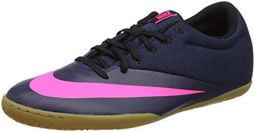 1ee42922781e6 Chuteira Nike Mercurial X Pro Ic Futsal - Azul E Rosa - Chuteira ...