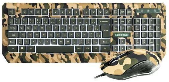 Kit Teclado e Mouse Tc249 Multilaser