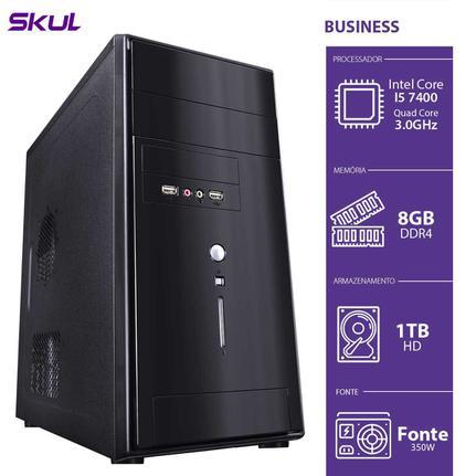Desktop Skul Business B500 B74001t8 I5-7400 3.0ghz 8gb 1tb Intel Hd Graphics Linux