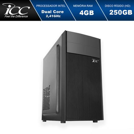 Desktop Icc Iv1840s2 Celeron J1800 2.41ghz 4gb 250gb Intel Hd Graphics Linux Sem Monitor