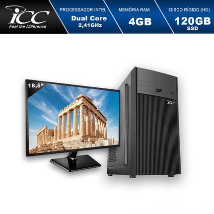 Desktop Icc Iv1846dm18 Celeron J1800 2.41ghz 4gb 120gb Intel Hd Graphics Linux Com Monitor