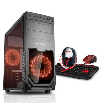 Desktop Neologic Gamer Nli80308 Amd A10-9700 3.50ghz 16gb 1tb Amd Radeon R7 Windows 10 Sem Monitor