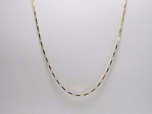 3bd8ccfbc66a6 Imagem de Cordão Corrente Masculina Ouro 60cm 2.7g Ouro 18k 750 Cadeado
