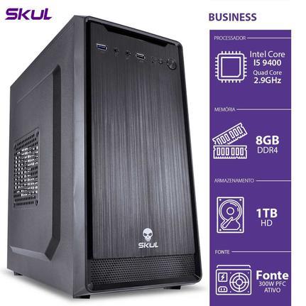 Desktop Skul Business B500 B94001t8 I5-9400 2.90ghz 8gb 1tb Intel Hd Graphics Linux