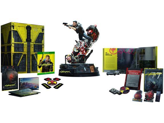 Jogo Cyberpunk 2077 - Collectors Edition - Xbox One - Warner Bros Interactive Entertainment