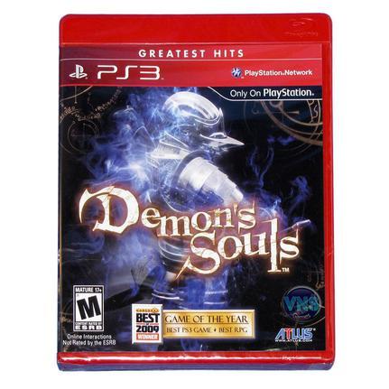 Jogo Demons Souls Standard Edition - Playstation 3 - Atlus