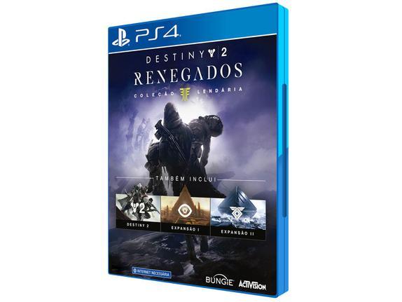 Jogo Destiny 2 Renegados Coleção Lendária - Playstation 4 - Activision