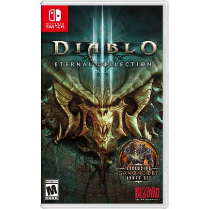 Jogo Diablo Iii: Eternal Collection - Switch - Blizzard Entertainment