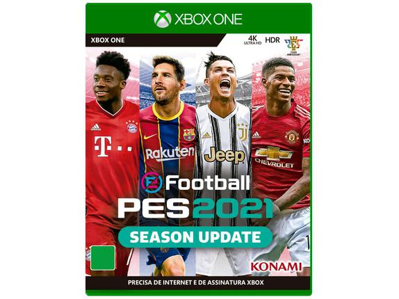 Jogo Pes 2021 - Xbox One - Konami