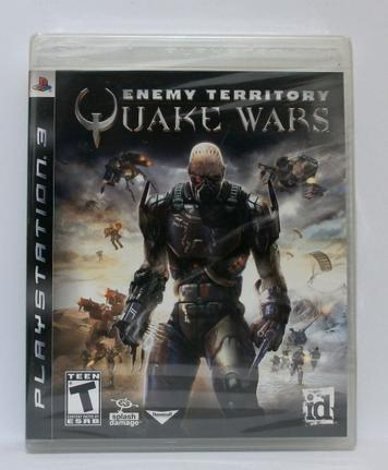 Jogo Enemy Territory: Quake Wars - Playstation 3 - Id Software