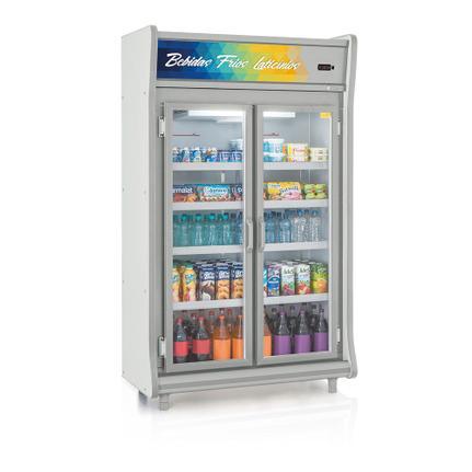 Geladeira/refrigerador 922 Litros 2 Portas Cinza - Gelopar - 110v - Gevp-2p