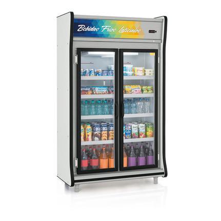 Geladeira/refrigerador 922 Litros 2 Portas Preto - Gelopar - 220v - Gevp-2p