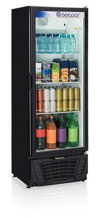 Geladeira/refrigerador 414 Litros 1 Portas Preto - Gelopar - 110v - Gptu40pr