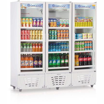 Geladeira/refrigerador 1468 Litros 3 Portas Branco - Gelopar - 220v - Grvc1450