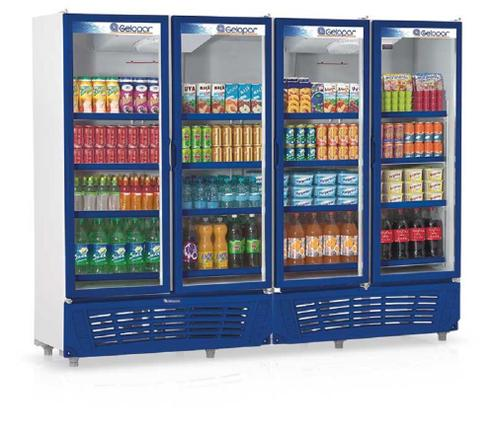Geladeira/refrigerador 1979 Litros 4 Portas Azul - Gelopar - 110v - Grvc1950az