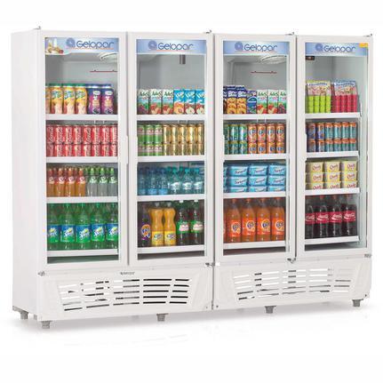 Geladeira/refrigerador 1950 Litros 4 Portas Branco - Gelopar - 110v - Grvc-1950